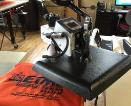 RI large format heat press
